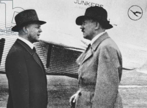 Third Reich - Hitler and Milch 1932