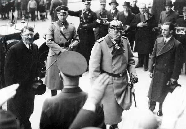 Third Reich - Reich Government, 1934 (b/w photo)