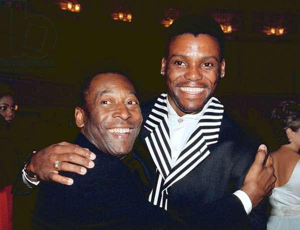 Pele and Carl Lewis