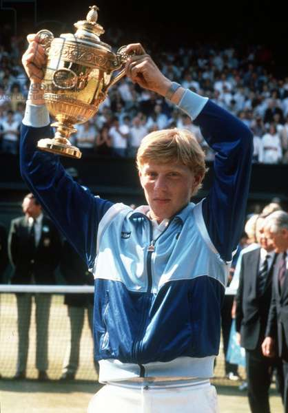 Tennis: Boris Becker wins Wimbledon 1985