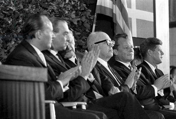 John Fitzgerald Kennedy a Berlin