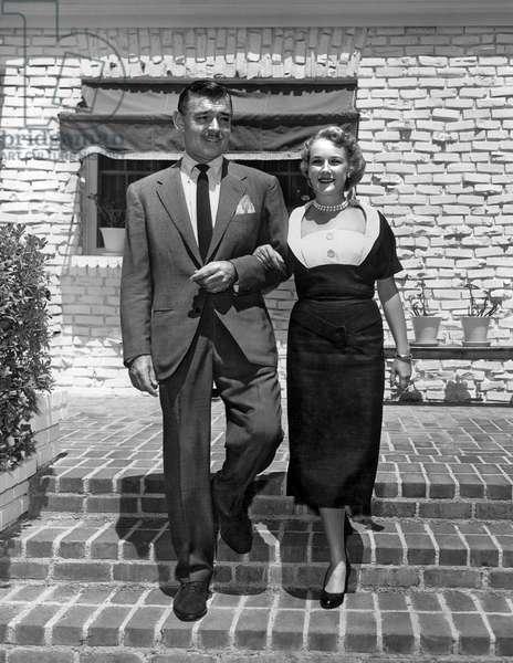 Clark Gable et Kay Williams Spreckels