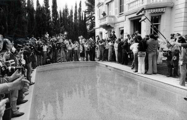 Marcello Mastroianni a Cannes