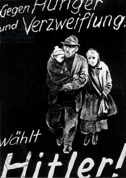 Reichstag elections 1932 - Election poster