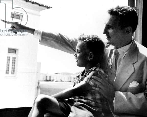 Fidel Castro and his son Angelo