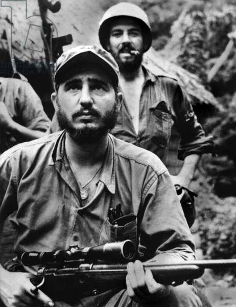 Fidel Castro et Camilo Cienfuegos