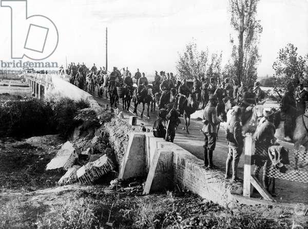 Spanish War: Franco troops