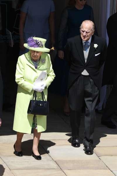 Queen Elizabeth II and Prince Consort Philip