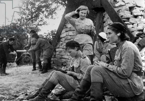 Sovietic women pilots