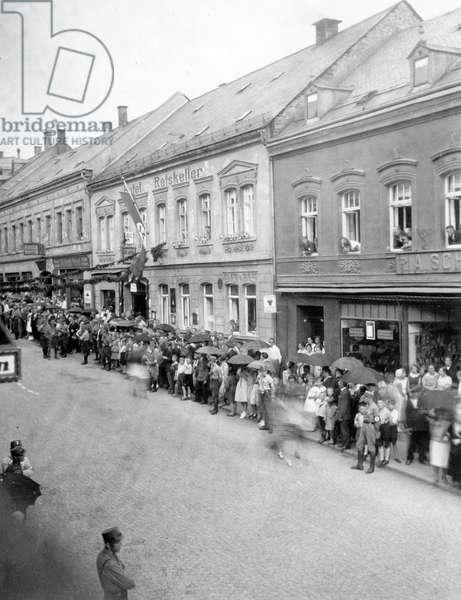 Weimar Republic - SA rally 1931