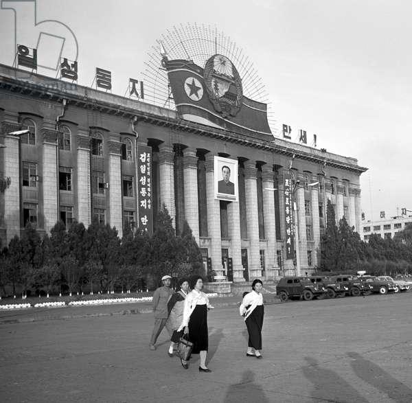 Historical North Korea - Pyongyang 1971 :