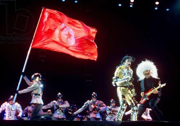 Michael Jackson (v.l. Michael Jackson, Greg Howe)