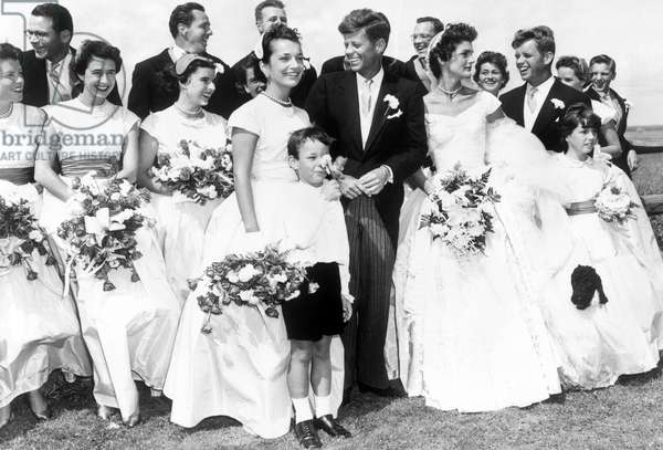 Wedding of JFK and Jackie