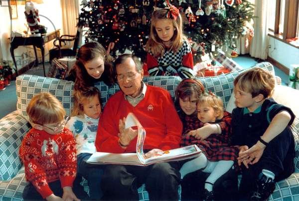 George Herbert Bush en famille