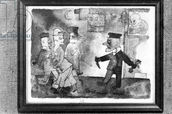 Third Reich - Degenerate Art Exhibition in Dresden 1933
