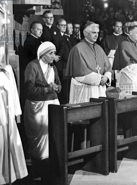 Mother Teresa and Joseph Ratzinger