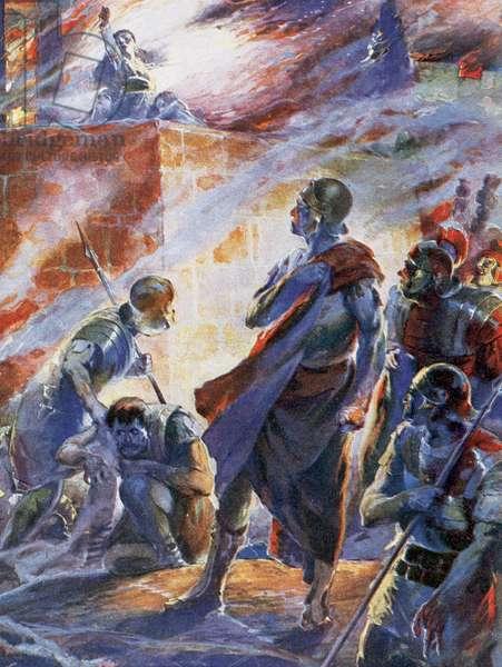 Rome fire 19 July 64