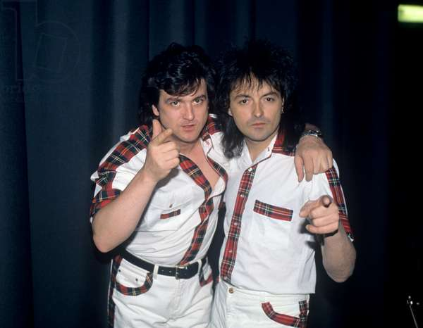 Bay City Rollers (Singer Les McKeown), 1992 (photo)