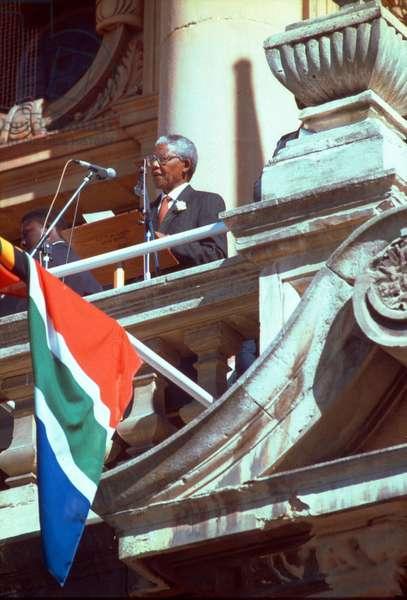 Nelson Mandela, 1994 (photo)