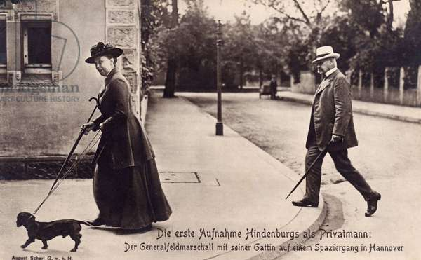 Weimar Republic - Retired Hindenburg around 1920