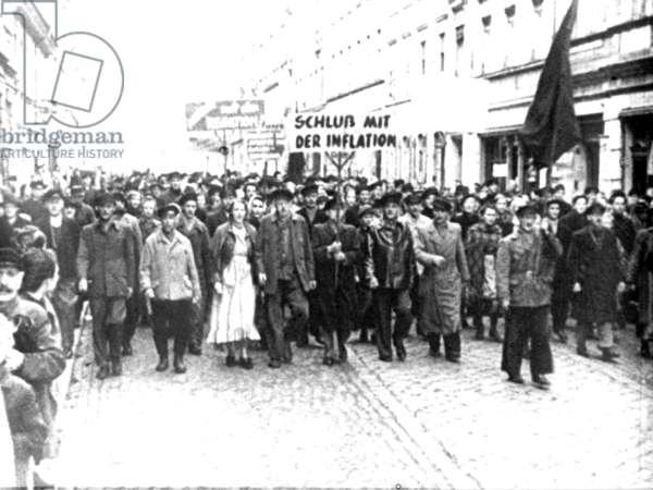 Demonstration in Berlin 1919