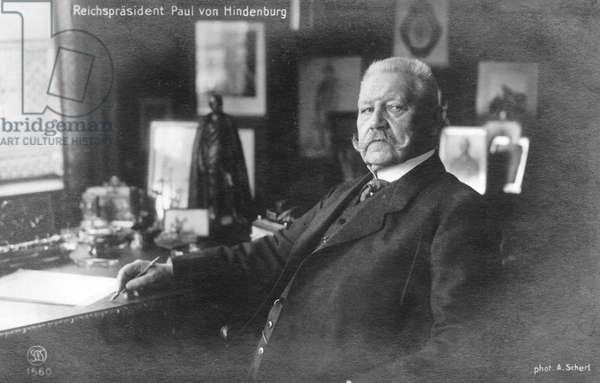 Weimar Republic - Paul von Hindenburg 1925