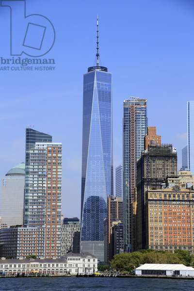 Manhattan, One World Trade Center, New York City, New York, USA