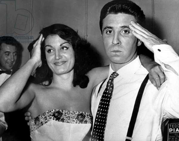 Dalida and Gilbert Becaud