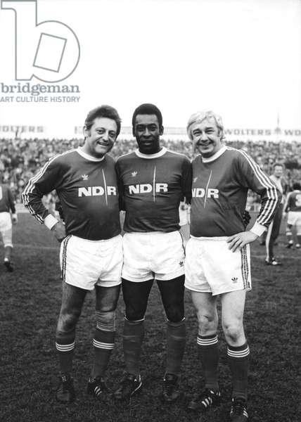 Hans Rosenthal, Pele et Wolfgang Gruner