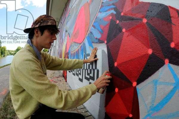 Urban Art Meeting in Saarbruecken