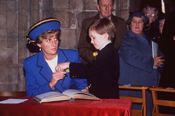 Diana et le prince William