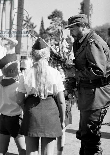 Cuba 1974 : Fidel Castro