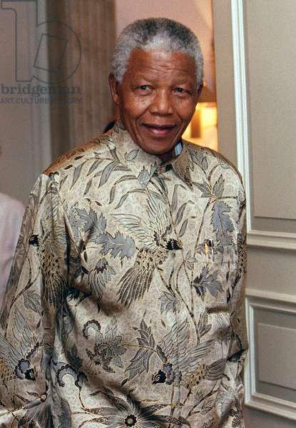 Nelson Mandela, 1999 (photo)