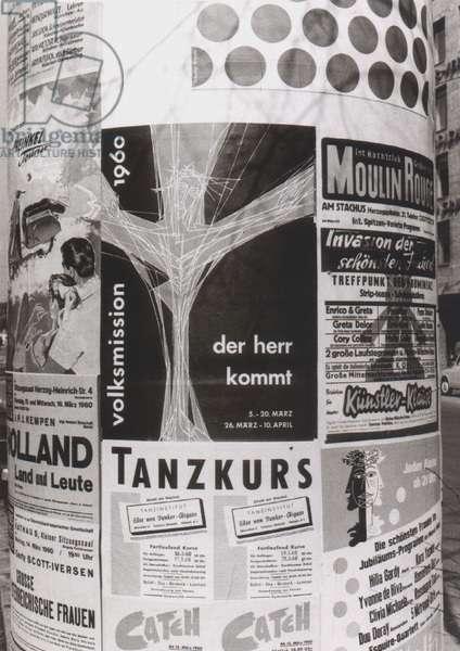 1960s - Advertising pillar
