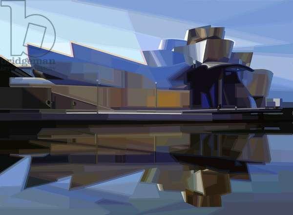 BILBAO Spain Museum Guggenheim Architecture Gehry SeriesCity