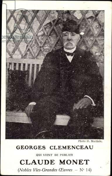 Georges Clemenceau, franzosischer Journalist, Politiker und Staatsmann