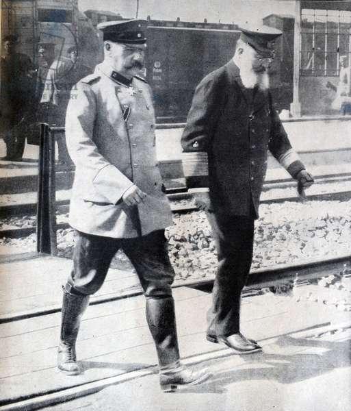 Paul von Hindenburg et Alfred von Tirpitz
