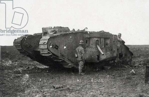 WW I - Western Front - British Tanks 1917