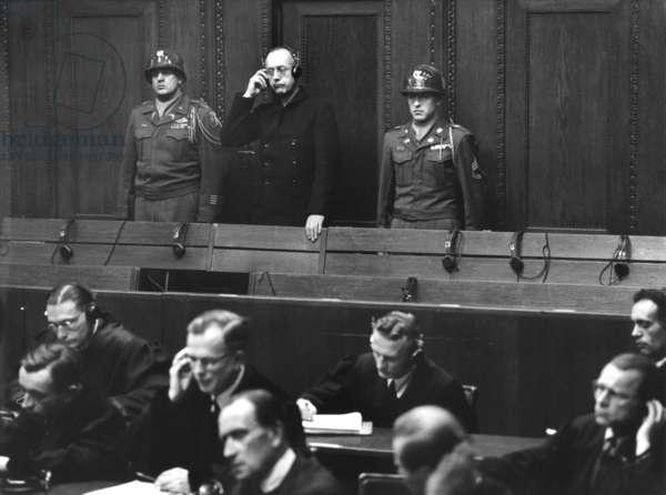 The trial of judges in Nuremberg