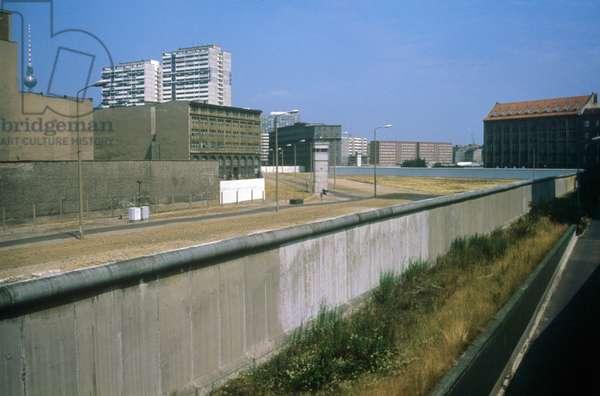 Berlin Wall 1986