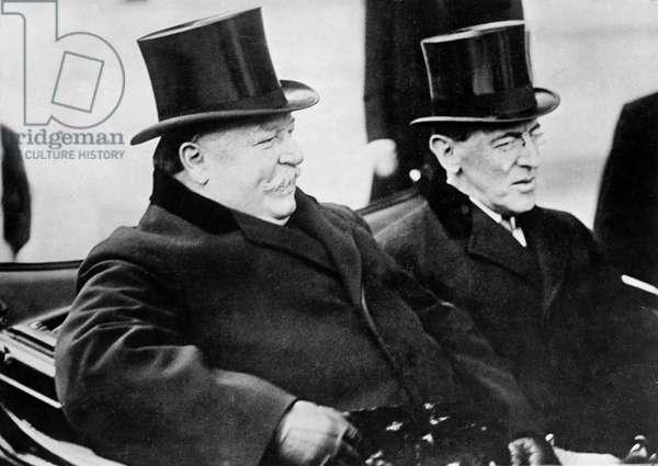 William Howard Taft et Woodrow Wilson