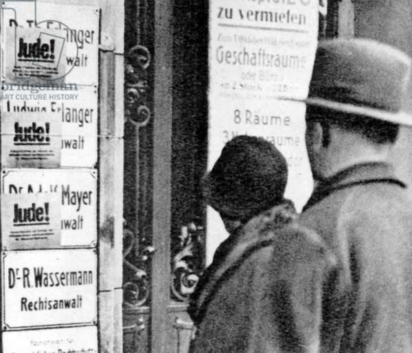 Third Reich - Persecution of the Jews 1938