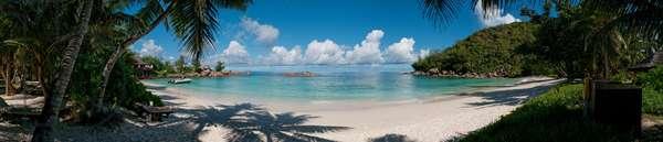 Der Strand Petit Anse Kerlan