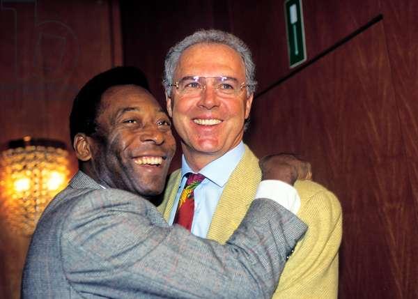 Pele and Beckenbauer