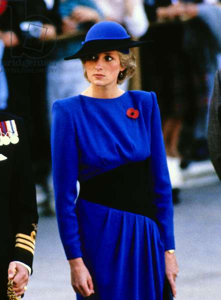 Princess Diana at Arlington National Cemetery