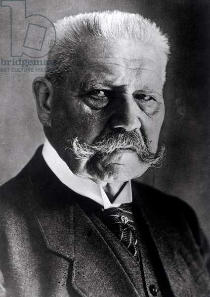 Paul von Hindeburg