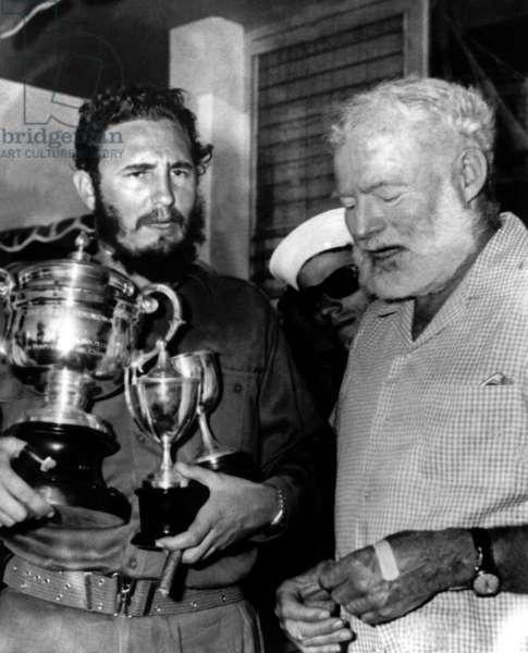 Fidel Castro et Ernest Hemingway