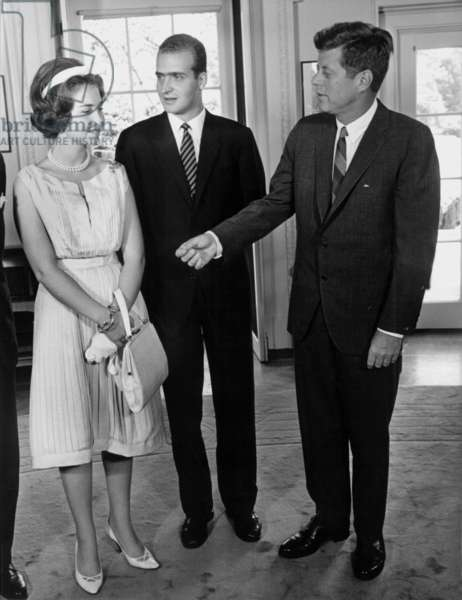 Juan Carlos of Spain and JFK