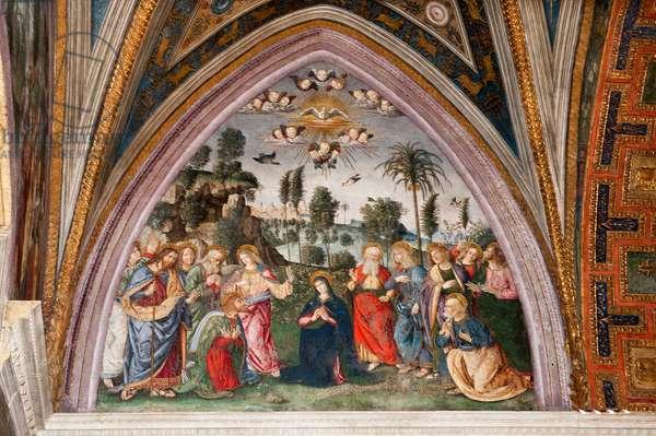 The Descent of the Holy Spirit, 1492-94 (fresco)