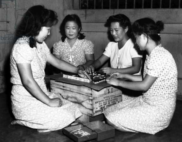 Philippines / Japan: Four Filipina 'Comfort Women' forced into sexual slavery by the Imperial Japanese Army on Luzon, c.1942-1945